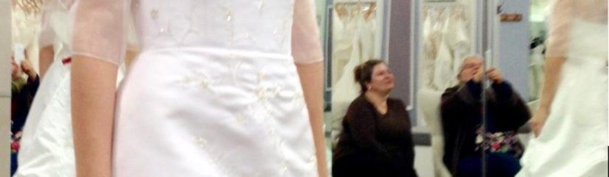 How To Wedding Dress Shop Right, From A Bride Who Knows