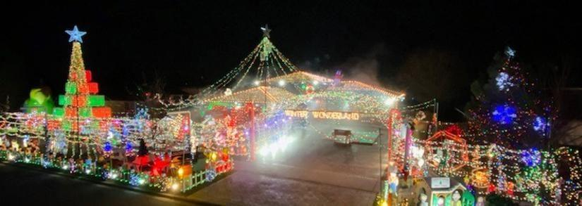 Christmas in Tinley Park, It's All About The Lights