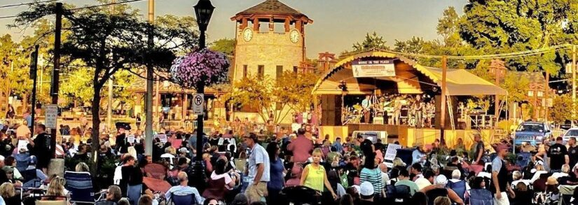 """Tinley Park """"Music In The Plaza"""" Set To Return August 15, 2020"""