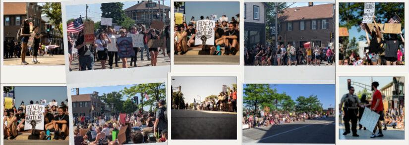 How The Tinley Park Protest On Blackout Tuesday Was Different From Others