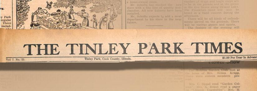 On This Day In Tinley Park History — July 26, 1935
