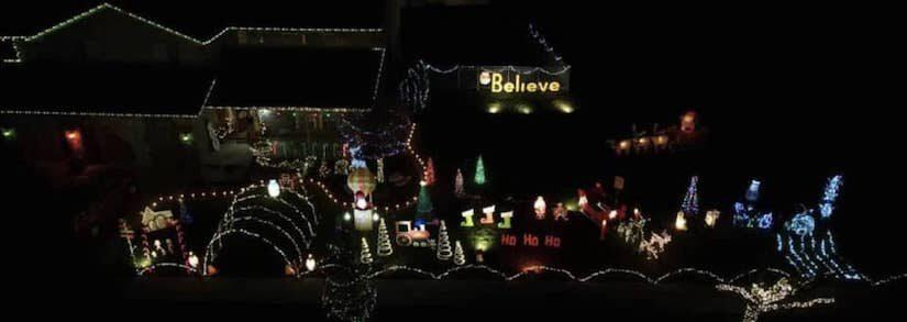 Top Decorated Houses With Christmas Lights In Tinley Park 2020
