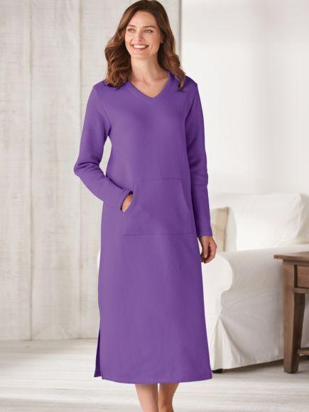 Fleece Lounger Purple Blair