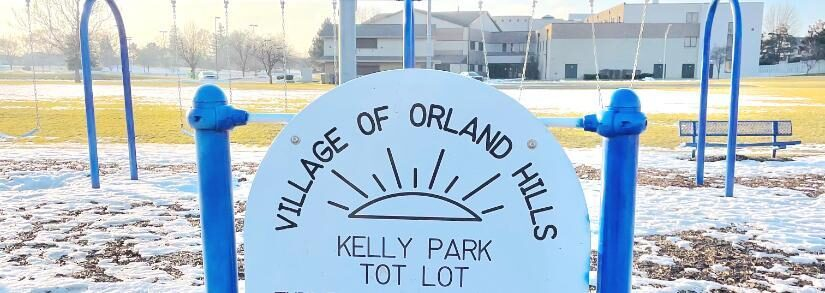 Kelly Park Tot Lot In Orland Hills