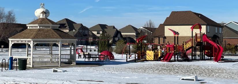 Prairie Ridge Park In Mokena